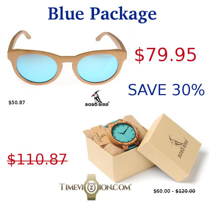 TimeVizion Blue Package