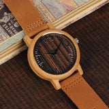 BOBO BIRD WH08 Bamboo Watch