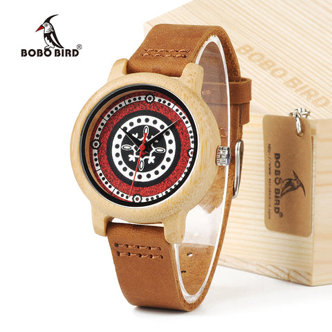 BOBO BIRD J19 Bamboo Wooden Watch