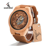 BOBO BIRD V-B09 Bamboo Wood Watch