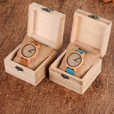 BOBO BIRD Timepieces Bamboo Watches