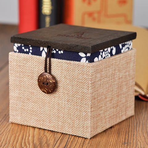 BOBO BIRD Blank Wooden Box for Watch Jewelry