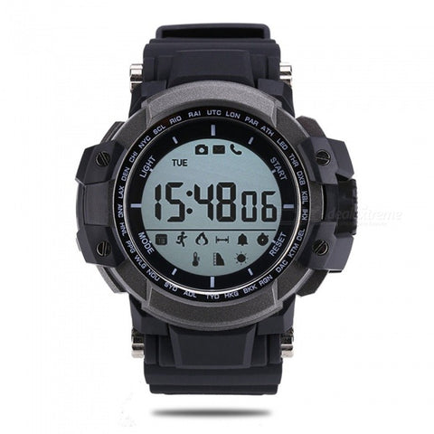 Zeblaze MUSCLE Hiking 5ATM Waterproof Smart Watch - Black