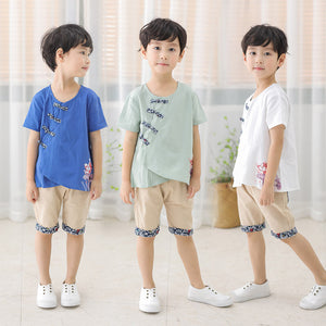 2-7Y   CNY Boys Suits  (3 Colours Available)  (BBSD-006,007,008) SALES