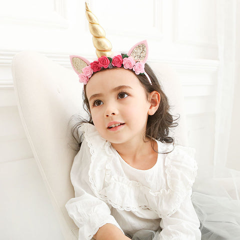 Unicorn Hairband (Light Pink)  (BA-12)