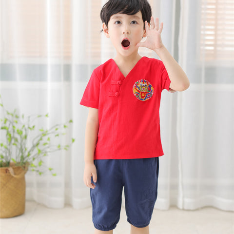 1-6Y  Boys Chinese Vintage Sets (BBSD-017) SALES