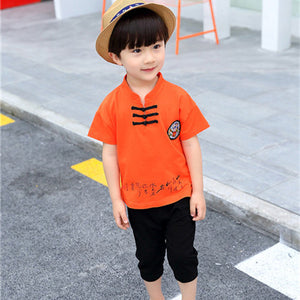 2-6Y  Boys Dragon Logo Boy Suits (BBSF-012)
