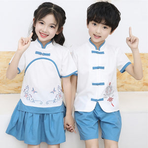 3-12Y  Boys & Girls Twinning Traditional Suits (BBSH-001, CSDT-001)