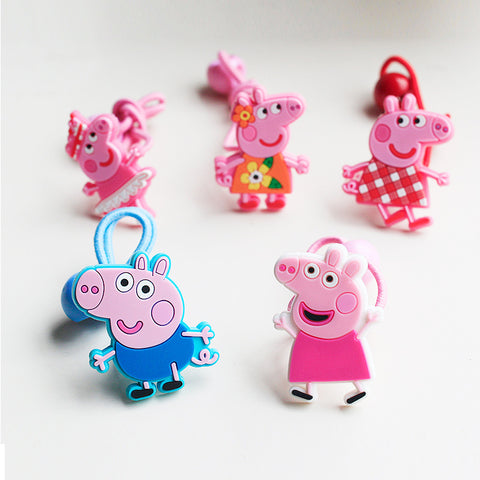Girls Cute Cartoon Hair Tie  (CC-03,CC-04)