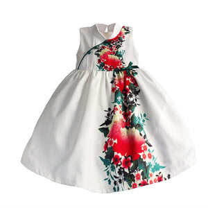 0-4Y  Girls CNY Floral Dress  (CSDK-004)
