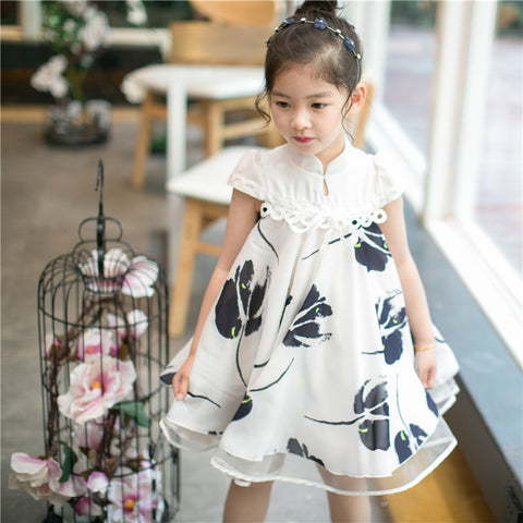 2-7Y  Girls Modern Hanbok Dress (CSDL-013)