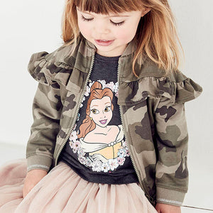SALES  1-6Y  Girls Camouflage Jacket  (GGJ1-006)