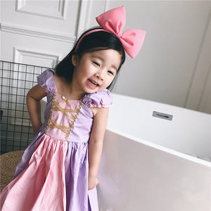 1-7Y  Rapunzel Princess Dress  (HGDB-018)
