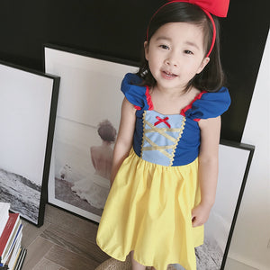 1-7Y  Girls Snow White Princess Dress  (HGDB-020)