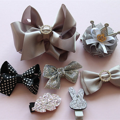 Girls Hair Clips 7-pcs Sets (PB-02)