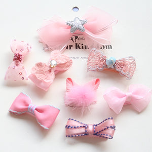 Girls Hair Clips 7-pcs Sets (PB-01)