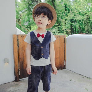 2-7Y  Boys Suits Two Piece Sets (TCS1-018)