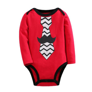 SALES  0-2Y  Baby Long Sleeves Santa Romper  (VCR1-010)