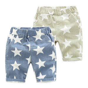 2-7Y  Boys Stars Prints Casual Shorts (2 Colors Available) (ZBB7-004, ZBB7-005))