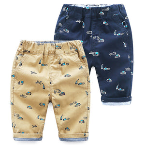 2-8Y  Boys Printed Knee-Length Pants (2 Colors Available) (ZBB7-009, ZBB7-010)