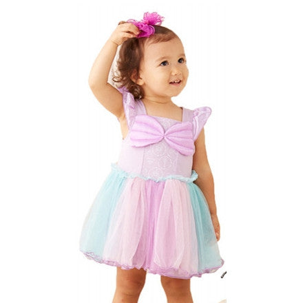 1-6Y  Girls Mermaid Tulle Dress  (ZGDB-002)