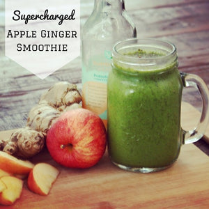 Supercharged Apple Ginger Smoothie