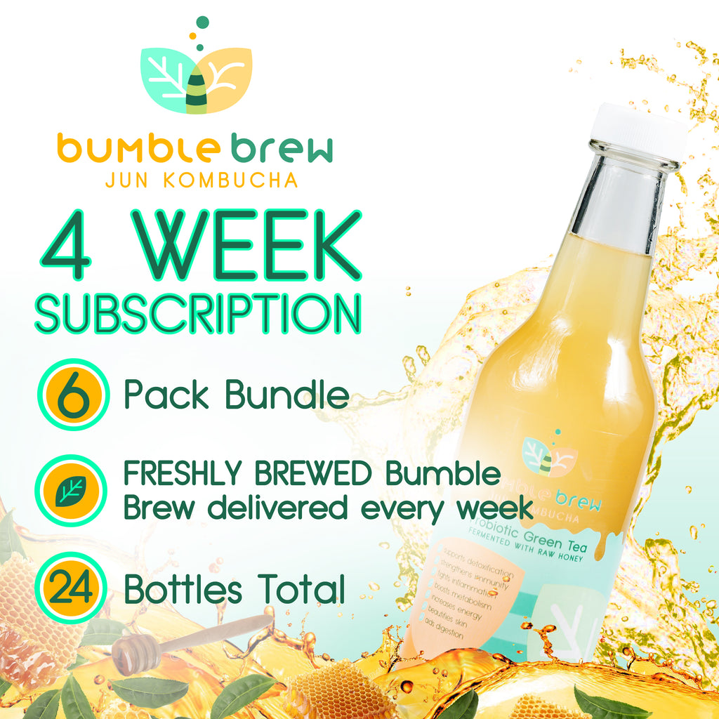 4 Week Subscription (6-Pack Bundle)