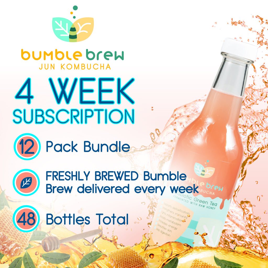 4 Week Subscription (12-Pack Bundle)