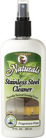 Howard's Naturals Stainless Steel Cleaner & Polish