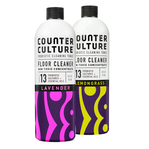 Probiotic Floor Cleaner Concentrate by Counter Culture Clean