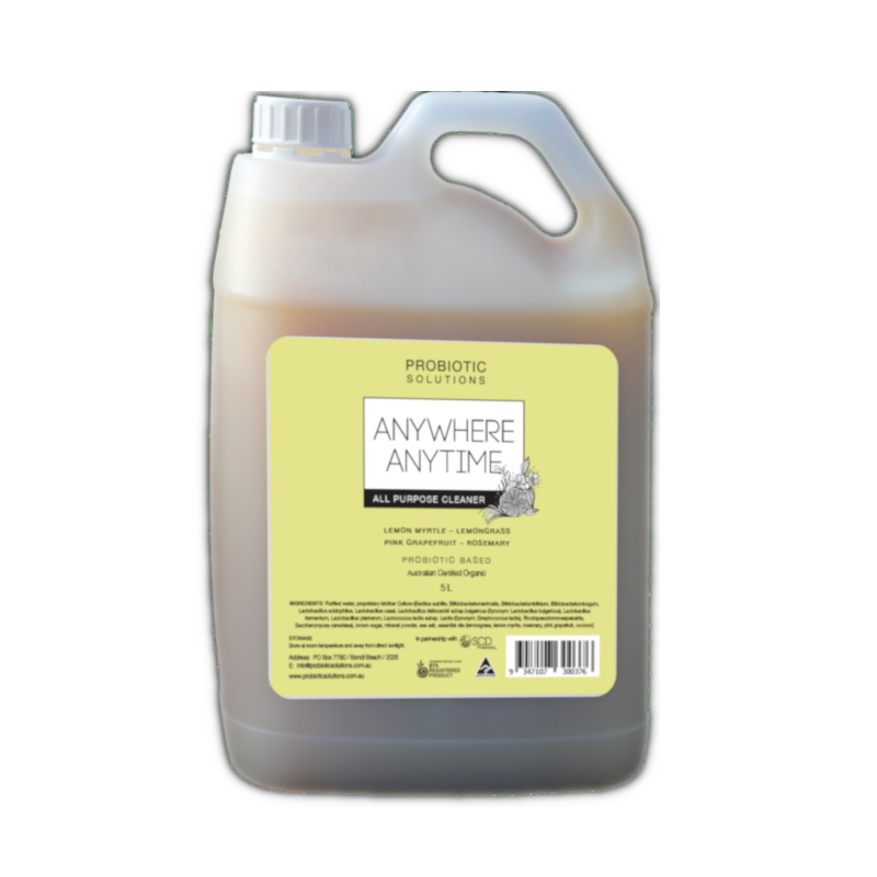 Anywhere Anytime - 5l Lemongrass by Counter Culture Clean