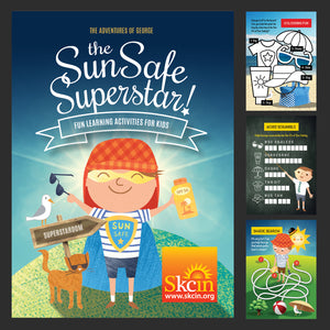 Children's Sun Safety Activity Books (box of 400)