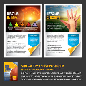 Skin cancer prevention and early detection awareness pack