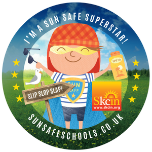 Sun Safe Superstar Stickers