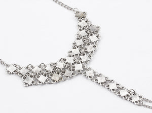 Barefoot Flower Chain Anklet Jewelry