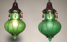 Moroccan Lamp Mediterranean Glass Lamp