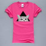 Crazy Eye Cat T-Shirt-Caravan Stash