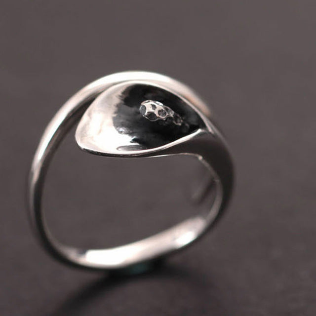 Sterling Silver Calla Lily Wrap Ring-Caravan Stash