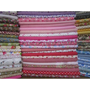 Colorful Printed Fabric Stash- 50 pieces 20 x 25 cm-Caravan Stash