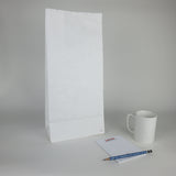 White Paper Grocery Bags (Plain)