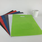 Reusable Flat Bags with Die Cut Handle (Plain)