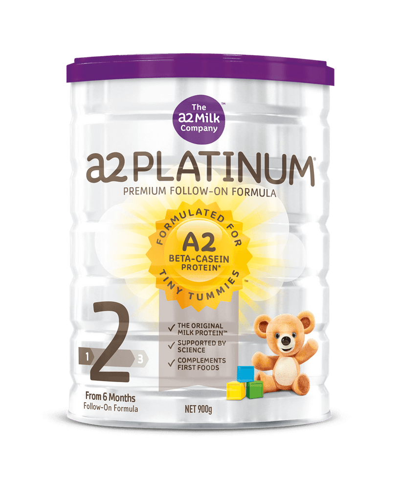 A2 Platinum Premium Follow On Formula 6 12 Months Stage 2 Naughty Babies