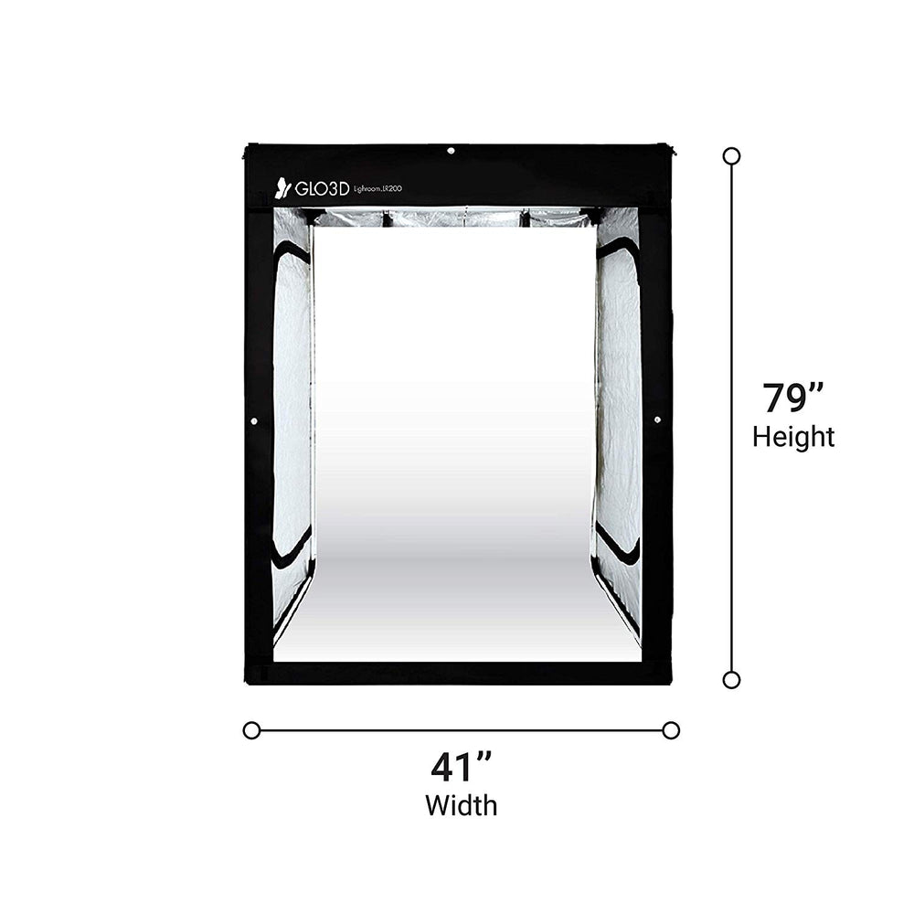 Glo3D LB200 Foldable Photo Studio Lightbox
