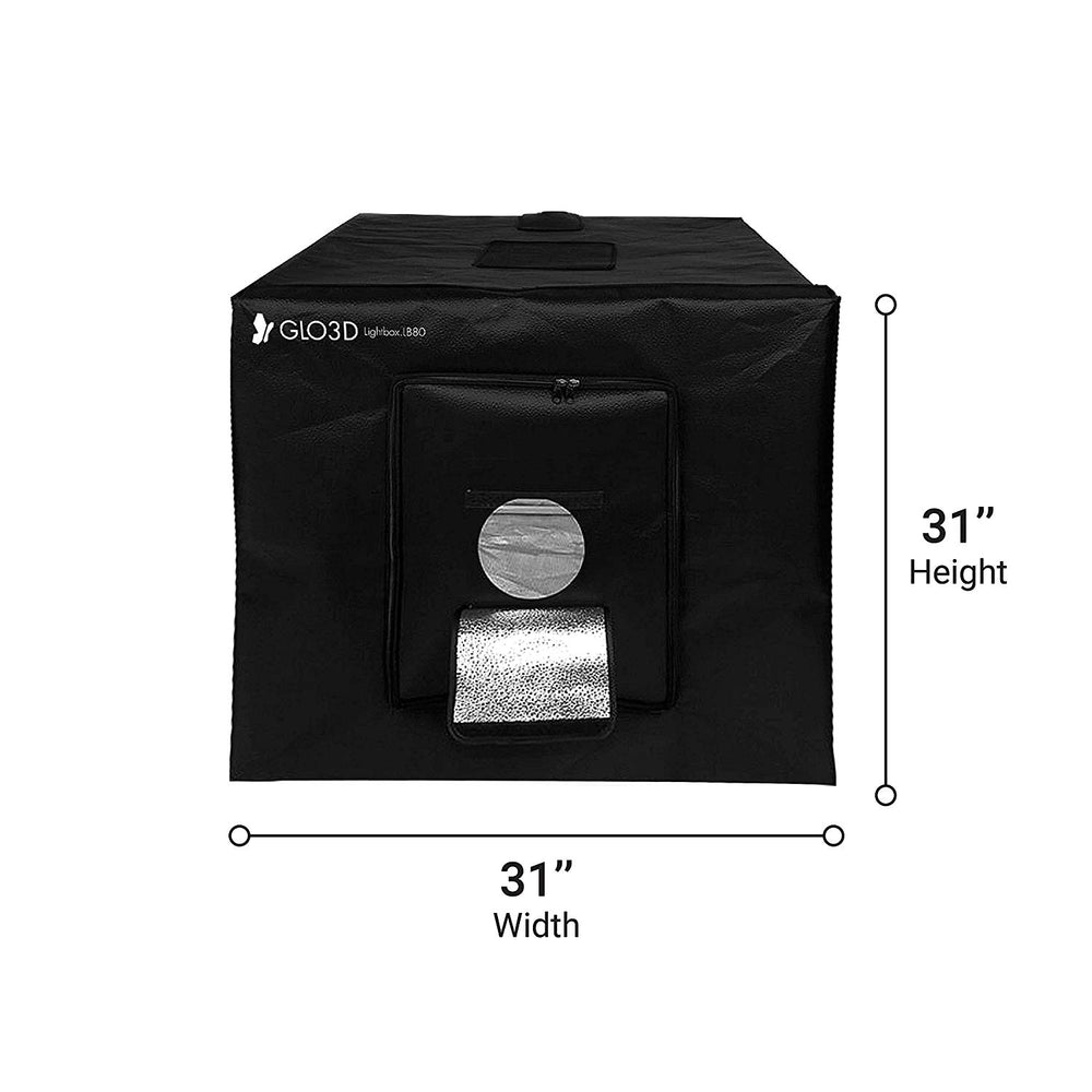 Glo3D Portable Photo Studio Lightbox & Light tent-LB80