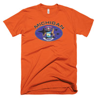 Michigan Flag Subaru T-Shirt