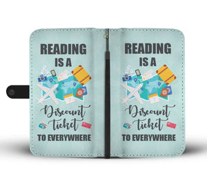 Awesome Reading Inspiration Phone Wallet Case