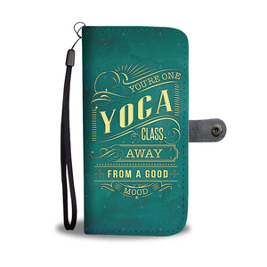 Awesome Yoga Mood Phone Wallet Case