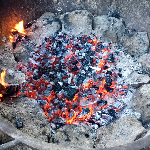 Cooking Over Coals