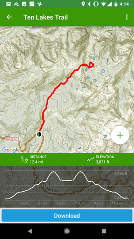 AllTrails Hiking App