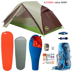Lightweight Backpacking Kit (1-Person)